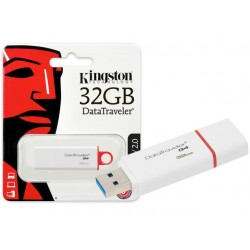 PEN DRIVE KINGSTON 32GB DTIG4 RED USB 3.0