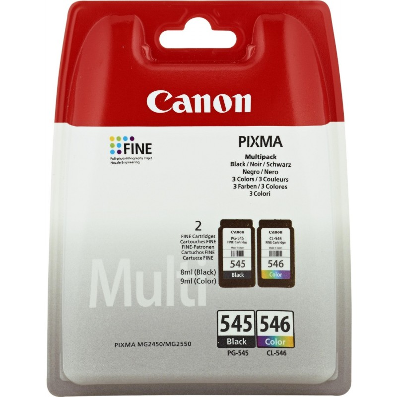 TINTEIRO CANON 546XL COLOR