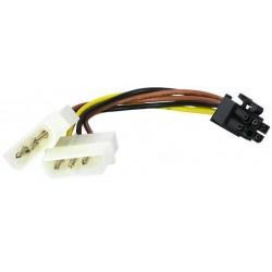 CABO ADAPTADOR 2 MOLEX A PCI AK0106