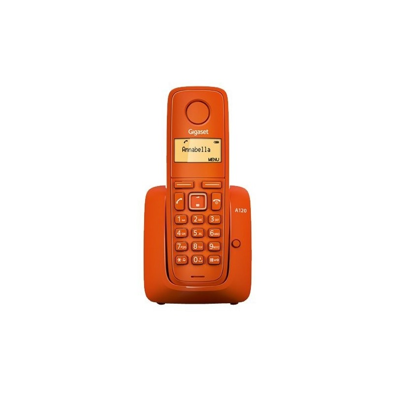 TELEFONE GIGASET A120 LARANJA