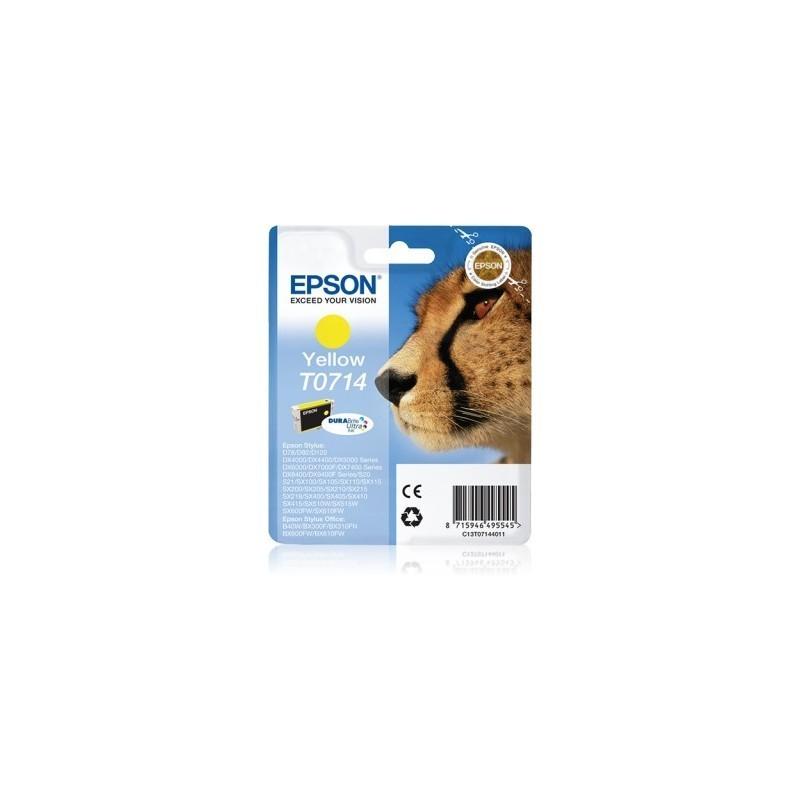 TINTEIRO EPSON T0714 YELLOW