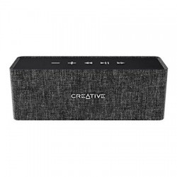 COLUNA PORTATIL CREATIVE NUNO BLACK