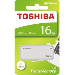 PEN USB TOSHIBA U203 16GB WHITE