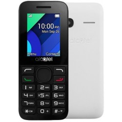 TELEMOVEL ALCATEL 1054D DS PURE WHITE LATIN