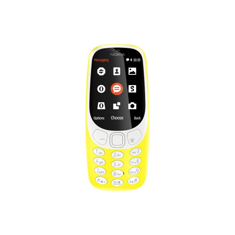 TELEMOVEL NOKIA 3310 DS YELLOW