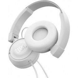 AUSCULTADORES JBL T450 WHITE