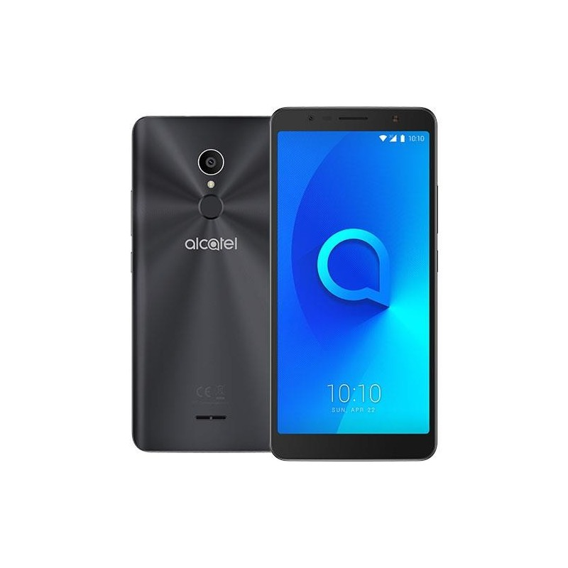 "SMARTPHONE ALCATEL 3C DS 6"" METALLIC BLACK"