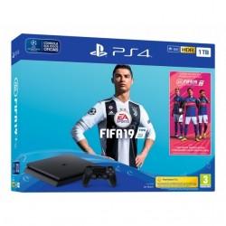 CONSOLA SONY PS4 1TB + FIFA 19