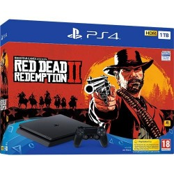 CONSOLA PS4 1TB + RED DEAD REDEMPTION II