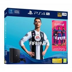 CONSOLA PS4 PRO 1TB + FIFA 19