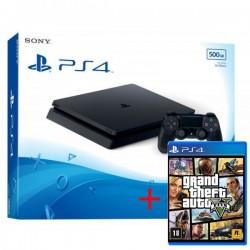 Consola Sony PS4 Slim 500GB + JOGO GTA V