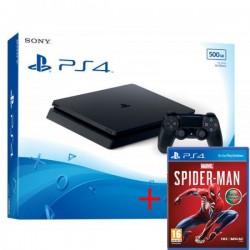 Consola Sony PS4 Slim 500GB + JOGO SPIDER MAN