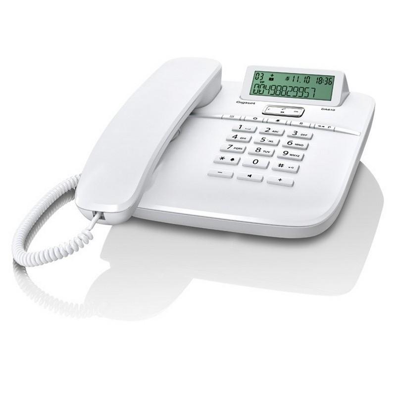 TELEFONE FIXO GIGASET DA610 WHITE