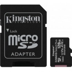 CARTAO MICRO SD KINGSTON 128GB CLASS 10