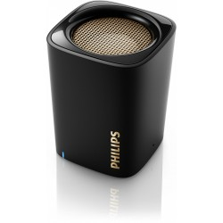 COLUNA PORTATIL PHILIPS BT100B/00 BLUETOOTH BLACK