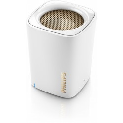 COLUNA PORTATIL PHILIPS BT100W/00 BLUETOOTH WHITE