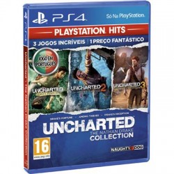 JOGO PS4 UNCHARTED: THE...